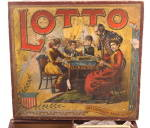 Click to view larger image of 1880s McLoughlin Brothers Large LOTTO Game (Image2)