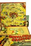 Click here to enlarge image and see more about item 000GAM86: Hopalong Cassidy Board Game by Milton Bradley - ca 1950