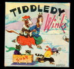 Click to view larger image of 1920s Milton Bradley 'Tiddledy Winks' Game (Image1)
