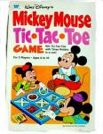 Click here to enlarge image and see more about item 000GAME376: 1977 Mickey Mouse Tic-Tac-Toe Game