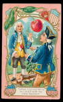 Click here to enlarge image and see more about item 000GAW23: Patriotic George Washington 1907 Postcard
