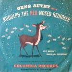 Click here to enlarge image and see more about item 000GENAUT60: 1949 Gene Autry's Rudolph the Red Nosed Reindeer Record