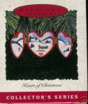 "Click here to enlarge image and see more about item 000HALL22: Hallmark 1993 ""Heart of Christmas"" Ornament"