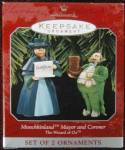 Hallmark Wizard of Oz Munchkins Ornament in Box