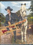 Click here to enlarge image and see more about item 000HOP17: 1950s Hopalong Cassidy Frame Tray Puzzle