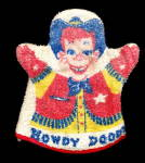 Click here to enlarge image and see more about item 000HOW20: 1950s Howdy Doody Terry Cloth Hand Puppet / Wash