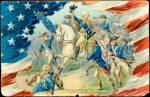Tucks George Washington's Birthday 1907 Postcard