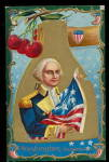 Winsch George Washington Patriotic 1907 Postcard