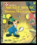 Click here to enlarge image and see more about item 000LGB18: Mickey Mouse & the Missing Mouseketeer LGB Book