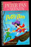 2 1969 Walt Disney Peter Pan Little Golden Books