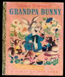 Walt Disney 'Grandpa Bunny' A Little Golden Book