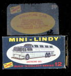 1968 Mini-Lindy Lindberg Greyhound Bus Model Kit