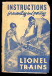 Click here to enlarge image and see more about item 000LIO10: 1950 Lionel Instructions for Assembling & Operating
