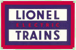 Click here to enlarge image and see more about item 000LIO3: Vintage Lionel Trains Enamel Pinback