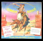 1953 Cowboy Songs Peter Pan Childrens Record