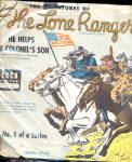 Click here to enlarge image and see more about item 000LONE38: The Lone Ranger' - He Helps the Colonels Son Record
