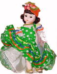 Click here to enlarge image and see more about item 000MAD573: Madame Alexander #573 Brazil Doll