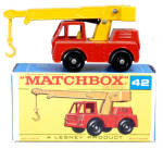 1960s Matchbox No 42 Iron Fairy Crane in Box