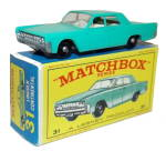 1960s Matchbox No 31 1968 Lincoln Continental in Box