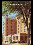 Click here to enlarge image and see more about item 000MI16: Grand Rapids, MI, St. Mary�s Hospital 1950s Postcard