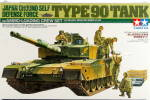 Tamiya Type 90 Tank Japan Ground Self Defense Model Kit