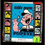 Click here to enlarge image and see more about item 000MOV19: Popeye Flim Flam Fireman 8mm Comedy Film in Box