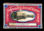 Click here to enlarge image and see more about item 000NYC20: Circa 1910 New York City Souvenir Colored Views