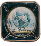 Click here to enlarge image and see more about item 000NYWF51: Metal 1964-1965 New York World's Fair Ashtray