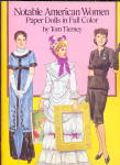 Click here to enlarge image and see more about item 000PAPD11: Tom Tierney Notable American Women Paper Dolls