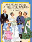 Click here to enlarge image and see more about item 000PAPD17: Tom Tierney American Family in Civil War Paper Dolls