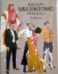 Click here to enlarge image and see more about item 000PAPD7: 1984 Tom Tierney Rudolph Valentino Paper Dolls