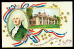 George Washington Birthday 1907 Postcard