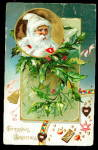 White Robe Santa Claus/Father Christmas 1906 Postcard