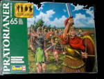 Click here to enlarge image and see more about item 000PLAS3: 1/72 Revell 2552 Pr�torianer Garde Soldiers in Box