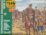 Revell Soviet Cossacks HO Scale 1/72  Plastic Soldiers
