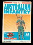 Click here to enlarge image and see more about item 000PLAS7: Airfix Australian Infantry 1981 Plastic Soldiers