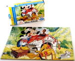 Click here to enlarge image and see more about item 000PUZ053: 1950s Jaymar Walt Disney Pluto Mini Puzzle