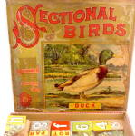 Click to view larger image of 1890s Milton Bradley 'Sectional Birds' Puzzle (Image1)