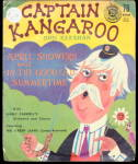 Click here to enlarge image and see more about item 000REC26: 1958 Captain Kangaroo 78 RPM Record with Sleeve