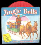 "1953 ""Jingle Bells""' 45 rpm Record w Sleeve"