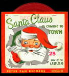 1953 Santa Claus is Coming to Town 45 rpm Record