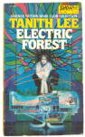Click here to enlarge image and see more about item 000SCIFI12: 1979 'Electric Forest' Tanith Lee Daws Book