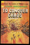 'To Conquer Chaos' John Brunner 1964 Book