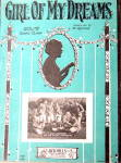 'Girl of My Dreams' Sheet Music, Guy Lombardo 1927