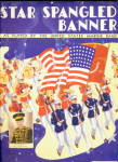 Click here to enlarge image and see more about item 000SHEET370: 1942 Star Spangled Banner Patriotic Sheet Music