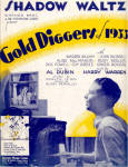 Click here to enlarge image and see more about item 000SHEET77: 'Gold Diggers of 1933' Shadow Waltz Sheet Music