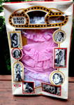 Click here to enlarge image and see more about item 000SHIRLIT: 1974 Shirley Temple Little Colonel Outfit Mint in Pckg