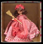 Click here to enlarge image and see more about item 000STORY2: Nancy Ann 'Saturday's Child' 185  Doll in Box