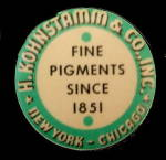 Click here to enlarge image and see more about item 000TAPE3: 1920s Advertising H. Kohnstamm & Co Tape Measure