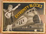 Click here to enlarge image and see more about item 000TOY13: 1950s Extremity Blocks - Wooden, Locomotive Cover